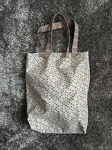 Nákupné tašky - Nákupná taška - Srdce - režné - 12440736_