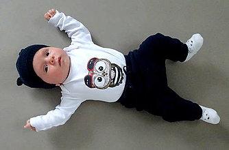 Detské oblečenie - Detské bavlnené body dlhý rukáv - OčiPuči Baby Fillipoo ♥ - 12441405_
