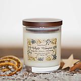 Svietidlá a sviečky - POSLEDNÉ KUSY - Sviečka zo 100% sójového vosku - Belgická horúca čokoláda - 12442747_