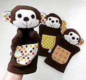 Hračky - Maňuška opička - na objednávku - 12440499_