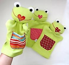 Hračky - Maňuška žabka - na objednávku - 12440532_