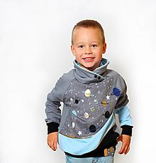 Detské oblečenie - Mikina - vesmír - 12443440_