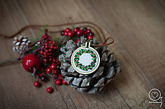 Náhrdelníky - Vianočná Vyšikráska Kornélia - 12443621_