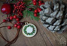 Náhrdelníky - Vianočná Vyšikráska Kornélia - 12443622_