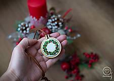 Náhrdelníky - Vianočná Vyšikráska Kornélia - 12443623_