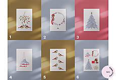 Grafika - Vianočná kartička, veniec - 12443187_
