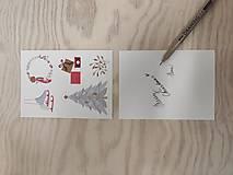 Grafika - Vtáčiky kartička/pohľadnica - 12443220_