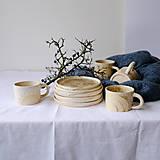 Nádoby - Tanier kolekcia Piesok - 12441743_