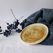 Nádoby - Tanier kolekcia Piesok (Tanier I) - 12441744_
