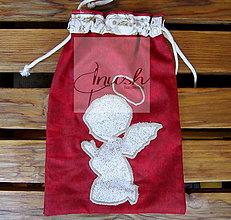 Úžitkový textil - Anjelik - vrecúško - 12441084_