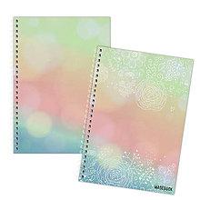 Papiernictvo - MADEBOOK 2 x špirálový zošit A5 - ROMATIKA prvá - 12446464_