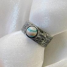 Prstene - Prsteň s achátom ☼ MARIE-CLAUDE ☼ - 12448834_