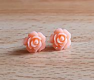 Náušnice - Ružičky napichovačky 22 (0,9cm) - 12445289_