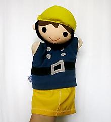 Hračky - Maňuška požiarnik - 12445405_
