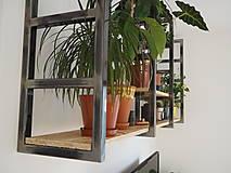 Nábytok - Kvetinová stena - 12445445_