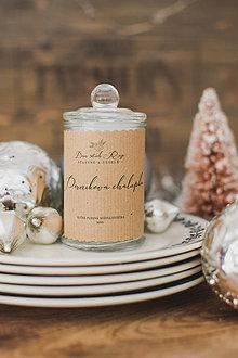 """Svietidlá a sviečky - Vianočná sójová sviečka """"Perníková chalúpka"""" - 12445974_"""