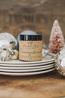 """Svietidlá a sviečky - Vianočná sójová sviečka """"Vianočný stromček"""" - 12446038_"""