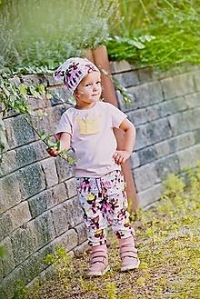Detské oblečenie - tepláčiky medvedík - 12444643_