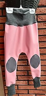 Detské oblečenie - Rastúce zimné softshellky (86/92) - 12445702_