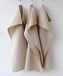 Úžitkový textil - Poloľanová utierka - 12444272_