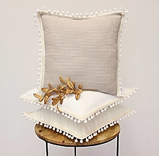 Úžitkový textil - Obliečka WAFFLE cotton Boho - 12449252_