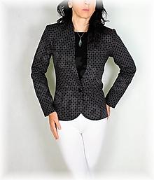 Mikiny - Kabátek luxusní úplet na knoflík - 12449773_