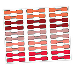 Papiernictvo - Samolepky ako záložky - 12453578_