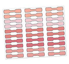 Papiernictvo - Samolepky ako záložky - 12453584_