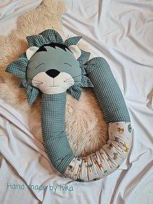 Textil - Valec - mantinel do postieľky / 120-200cm/ - LEV - 12449759_