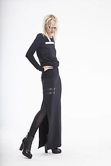 Sukne - FNDLK sukně 02sd maxi - 12450939_