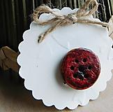 Odznaky/Brošne - drevená javorová vintage brošňa kvietok - 12453177_