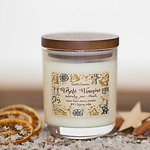 Svietidlá a sviečky - POSLEDNÉ KUSY - Sviečka zo 100% sójového vosku - Sušienky pre santu - 12452872_