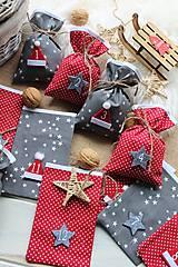 Dekorácie - Adventný kalendár vrecúška - 12452012_
