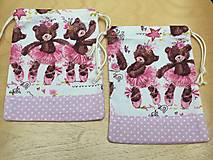 Úžitkový textil - vrecúška baletky - 12452333_