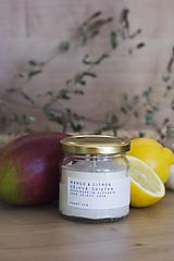 Sójová sviečka - Mango & Citrón