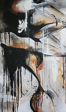 Obrazy - Abstrakt ženy - 12451888_