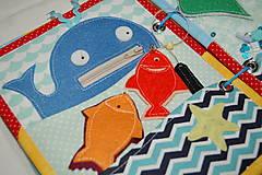 Hračky - more - veľryba - 12451371_