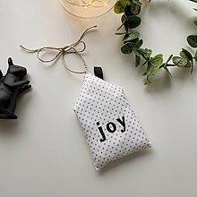 """Dekorácie - Domček """"Joy"""" - sada - 12449896_"""
