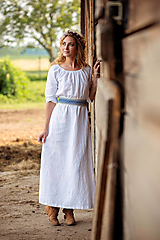 Ľanové šaty Mira