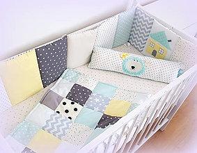 Textil - Kompletná sada do postieľky No limit mantinel/deka/vankúš - 12458907_