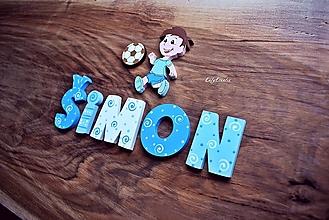 Detské doplnky - 5cm písmenká - 12454911_