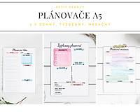 Papiernictvo - Plánovače - denný, týždenný a mesačný (Náplň do diára) PDF - 12454754_