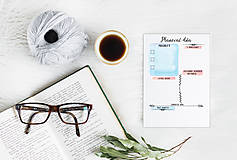 Papiernictvo - Plánovače - denný, týždenný a mesačný (Náplň do diára) PDF - 12454777_