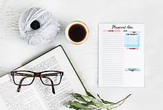 Papiernictvo - Plánovače - denný, týždenný a mesačný (Náplň do diára) PDF - 12454778_