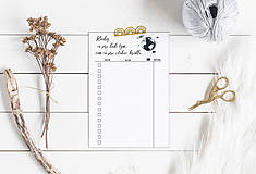 Papiernictvo - Plánovače - denný, týždenný + knihy na prečítanie (Náplň do diára) PDF - 12458894_