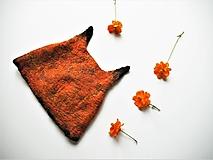 Čiapky - Vlnená čiapka líška - 12456843_
