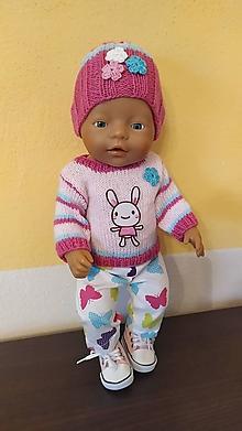 Hračky - Anička oblečenie pre bábiku. - 12454563_