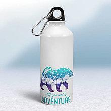 Nádoby - Turistická fľaša - 12454255_