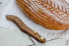 Pomôcky - Drevko - nožík na narezávanie chleba / orech - 12458981_