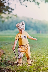 Detské oblečenie - tepláčiky cirkus - 12458691_